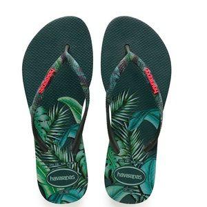 NWT Havaianas Women's Slim Flip Flops Size 7/8